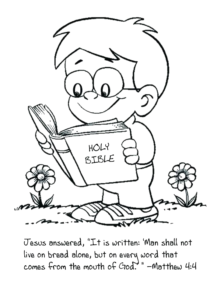 Bible Study Bible Coloring Pages for Kids Bible Study Coloring Pages at Getcolorings