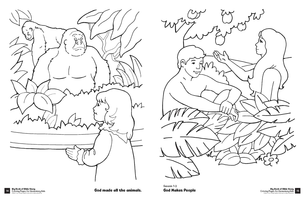 Big Book Of Bible Story Coloring Pages Big Book Of Bible Story Coloring Pages for Elementary Kids