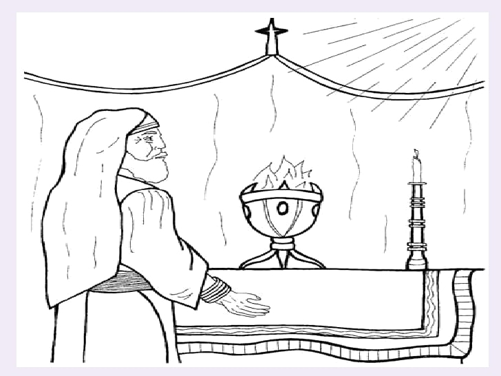 birth of john the baptist page sketch templates