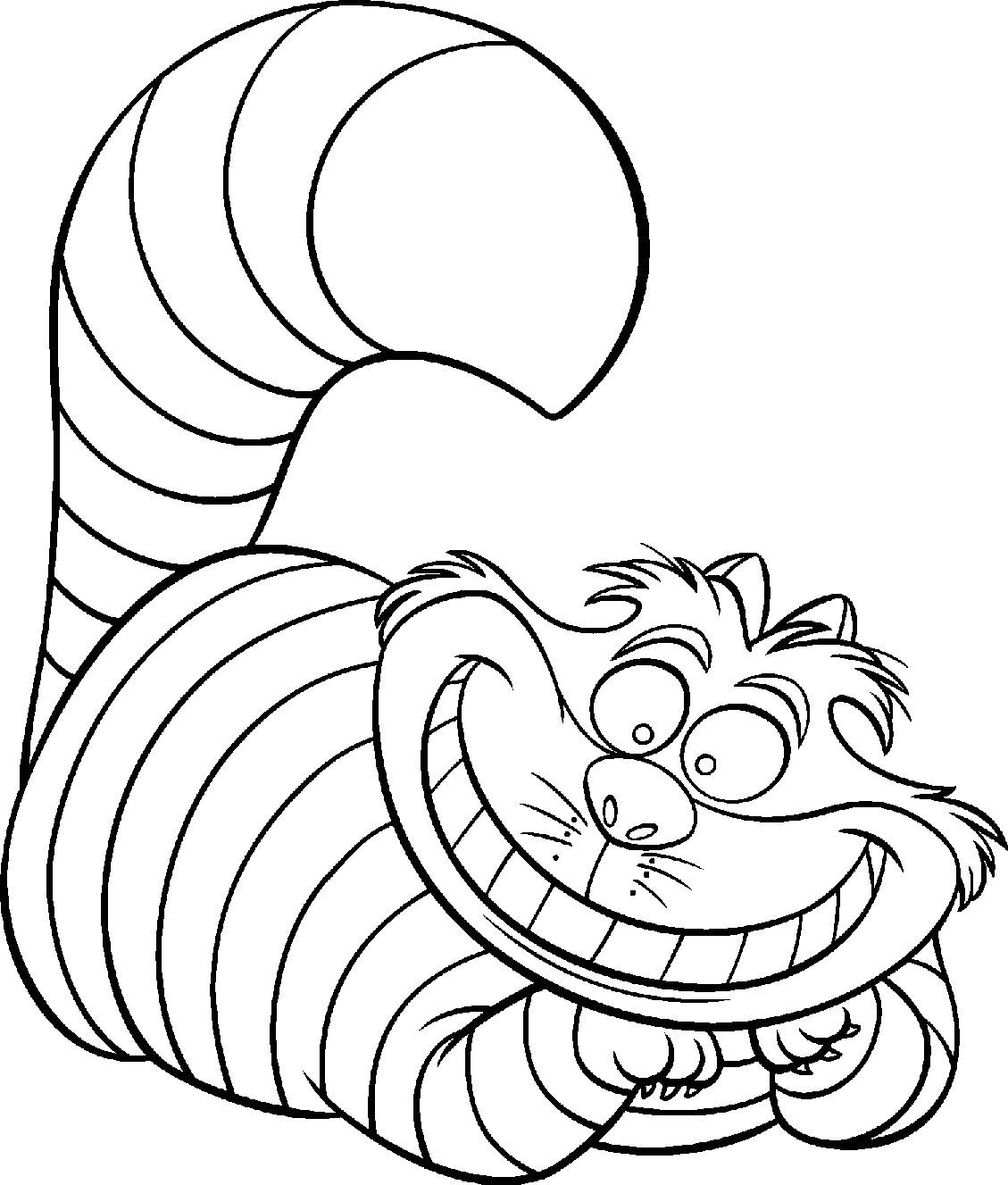 Coloring Pages Of Alice In Wonderland Characters Disney Coloring Pages