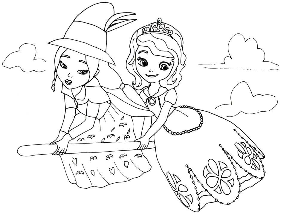 Disney Junior Coloring Pages sofia the First Kids Page Disney Junior sofia the First Princess