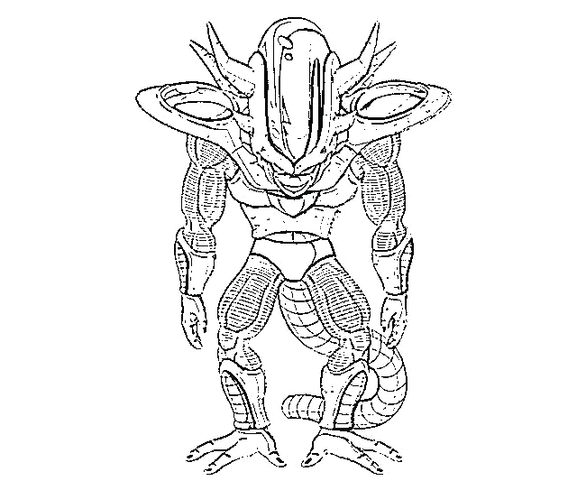 frieza coloring pages
