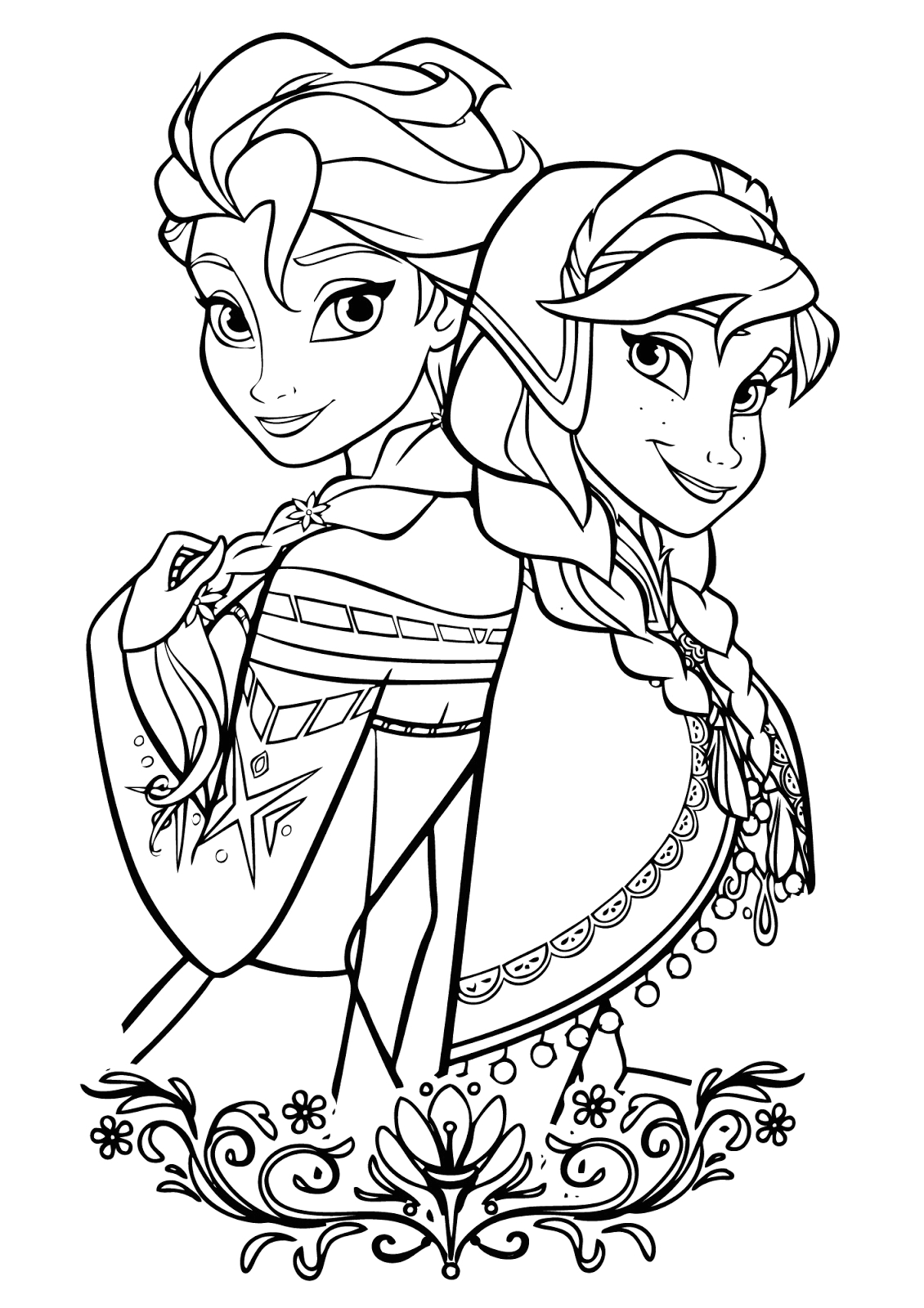 Free Disney Frozen Coloring Pages to Print 15 Beautiful Disney Frozen Coloring Pages Free Instant