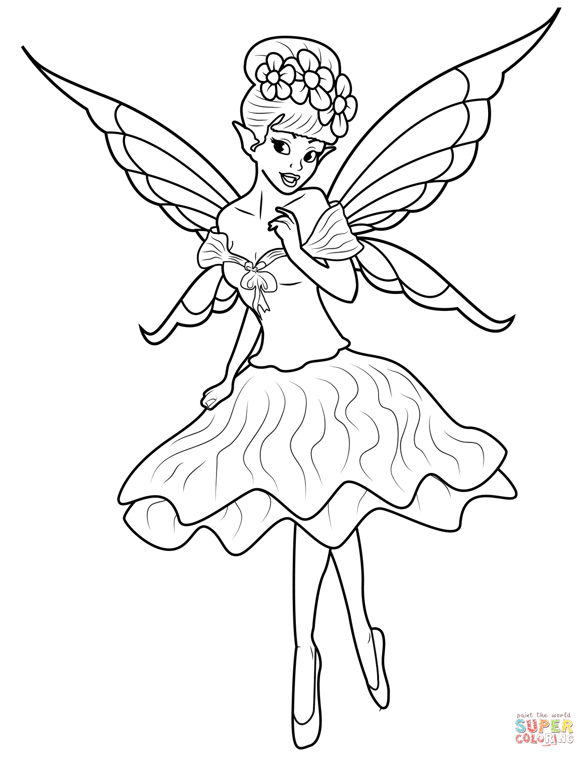 free printable coloring pages for adults dark fairies