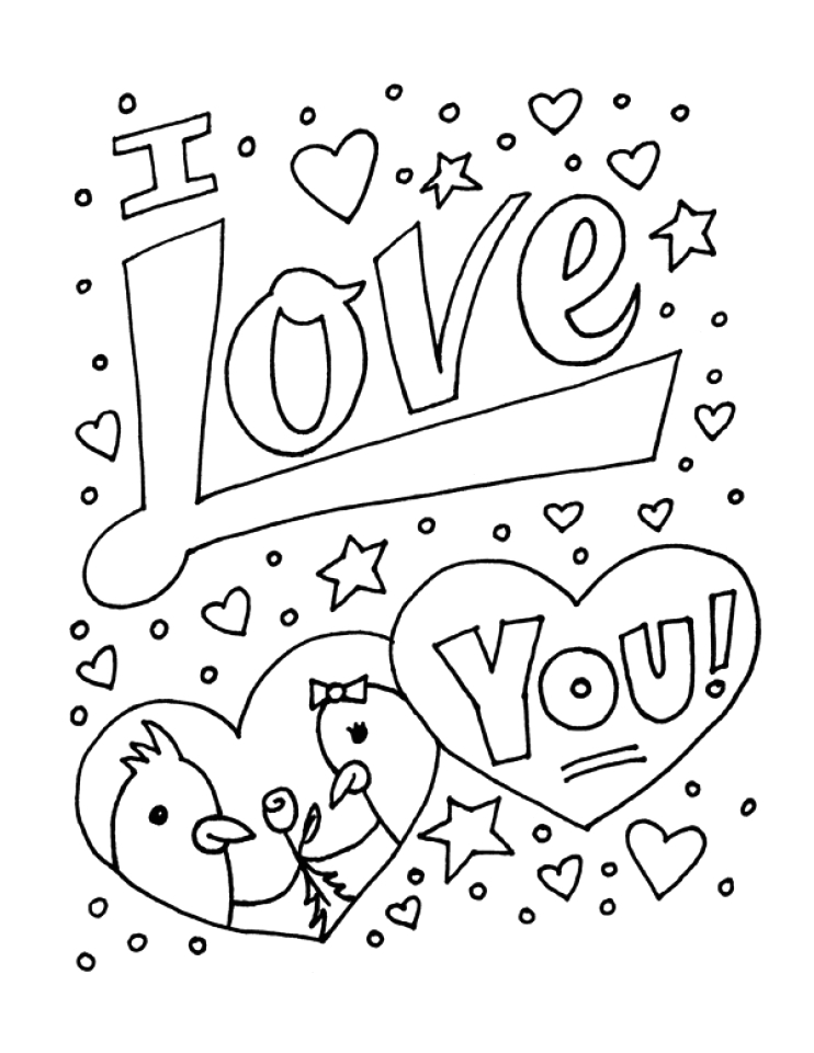 Free I Love You Coloring Pages Printable Get This Free Printable I Love You Coloring Pages for Kids
