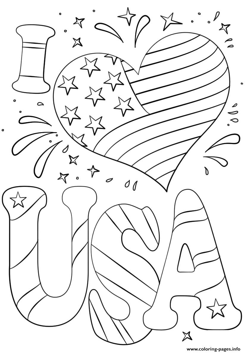 4th of july coloring pages image 1842