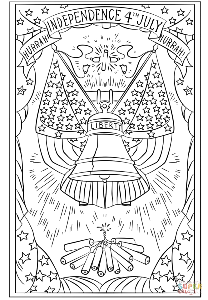 Free Printable 4th Of July Coloring Pages for Adults Get This 4th Of July Coloring Pages for Adults Uv5bx