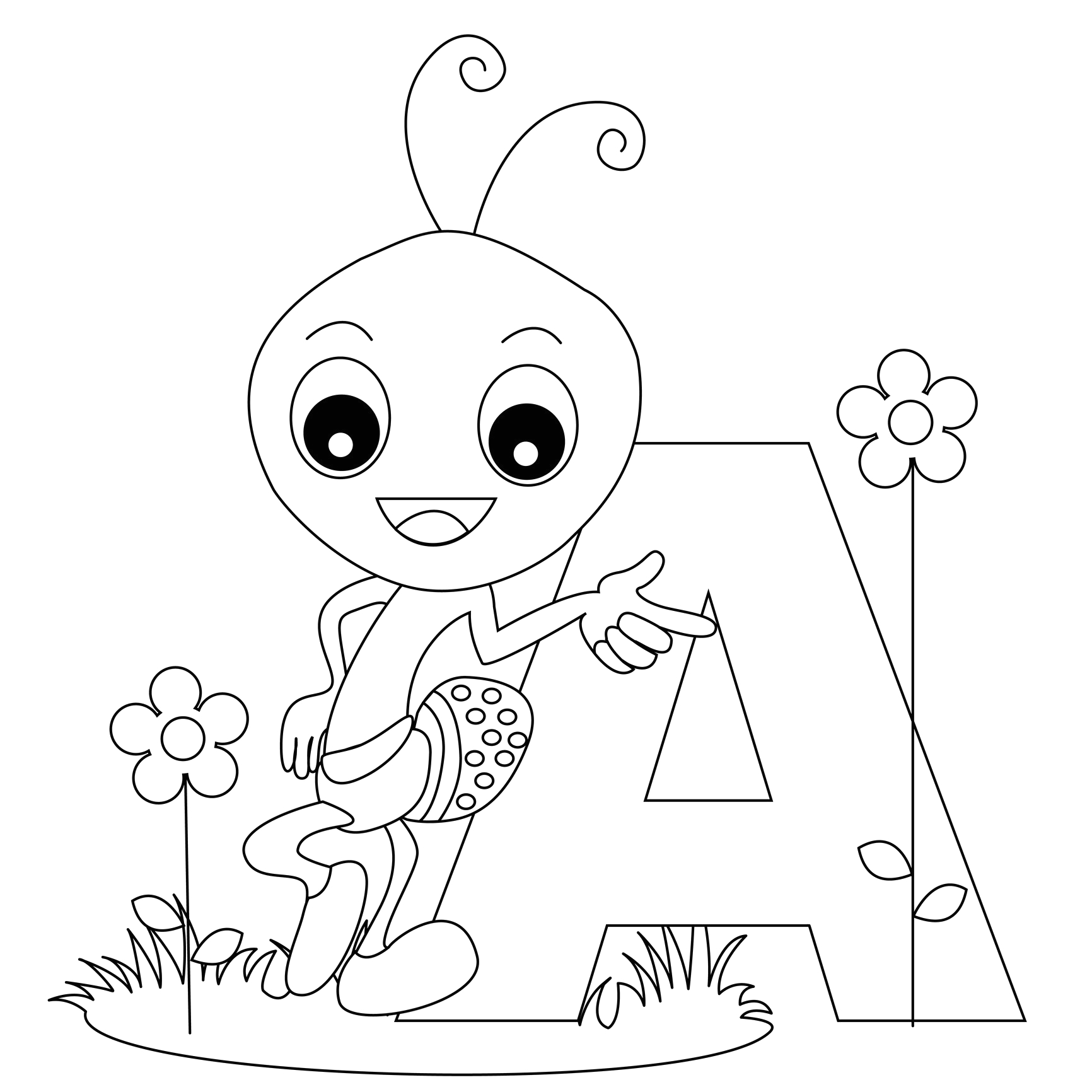Free Printable Alphabet Coloring Pages for Kids Free Printable Alphabet Coloring Pages for Kids Best