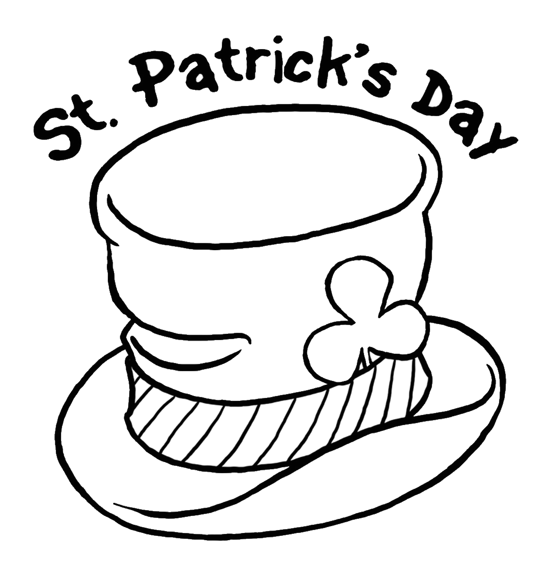 Free Printable St Patrick Day Coloring Pages St Patrick S Day Coloring Pages for Childrens Printable