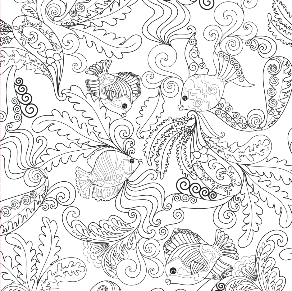 online adults printable of summer coloring sheets