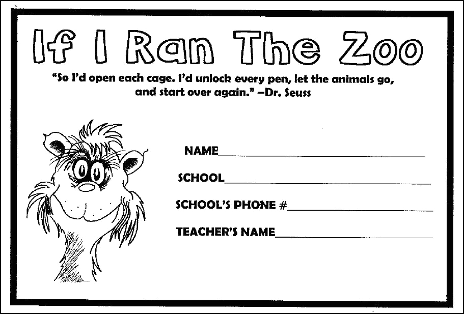 if i ran the zoo coloring pages sketch templates