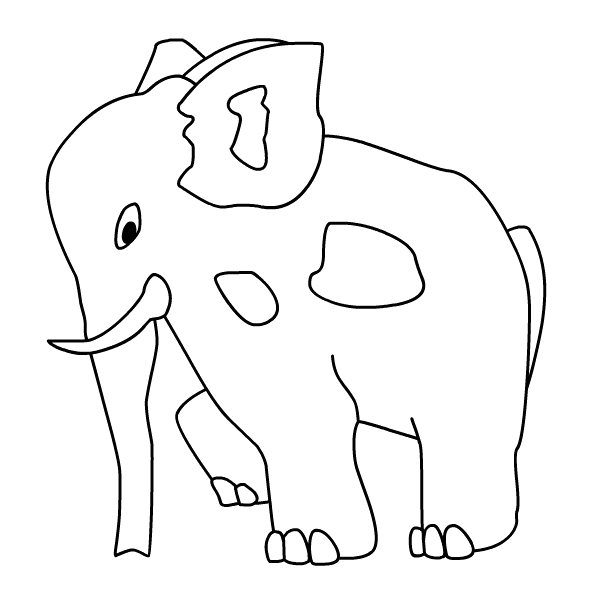 if i ran the zoo coloring pages
