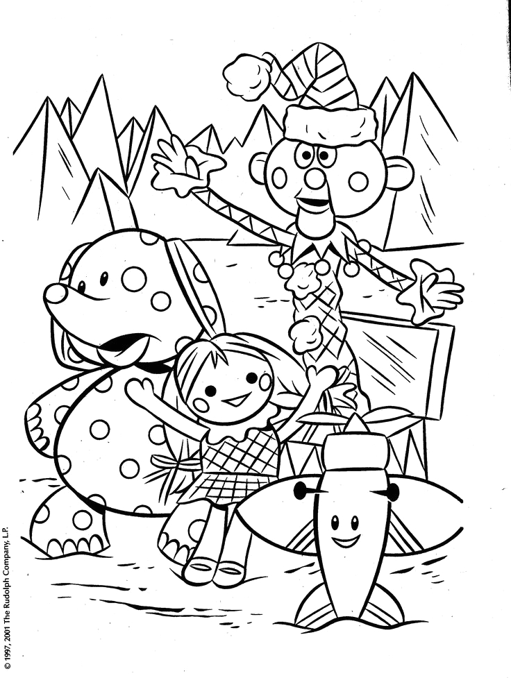 Island Of Misfit toys Characters Coloring Pages 18 Best island Of Misfit toys Images On Pinterest