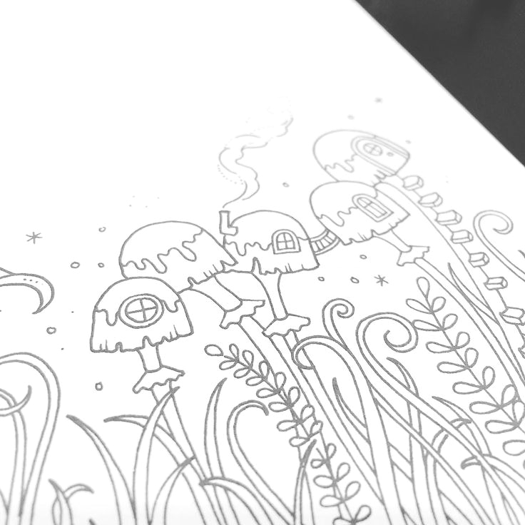 coloring in ivy and the inky butterfly