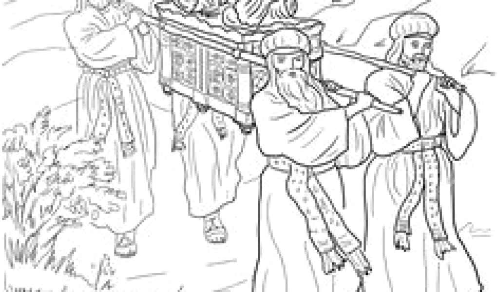 joshua crossing the jordan river coloring page 13 best storytelling props images