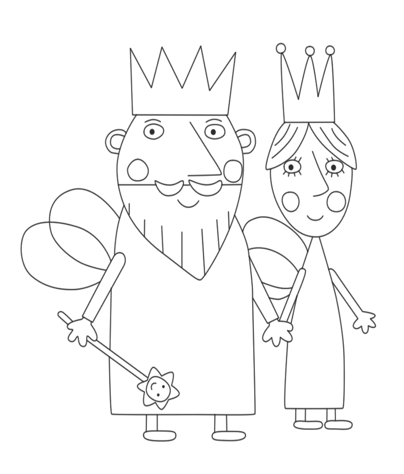 King And Queen Thistle