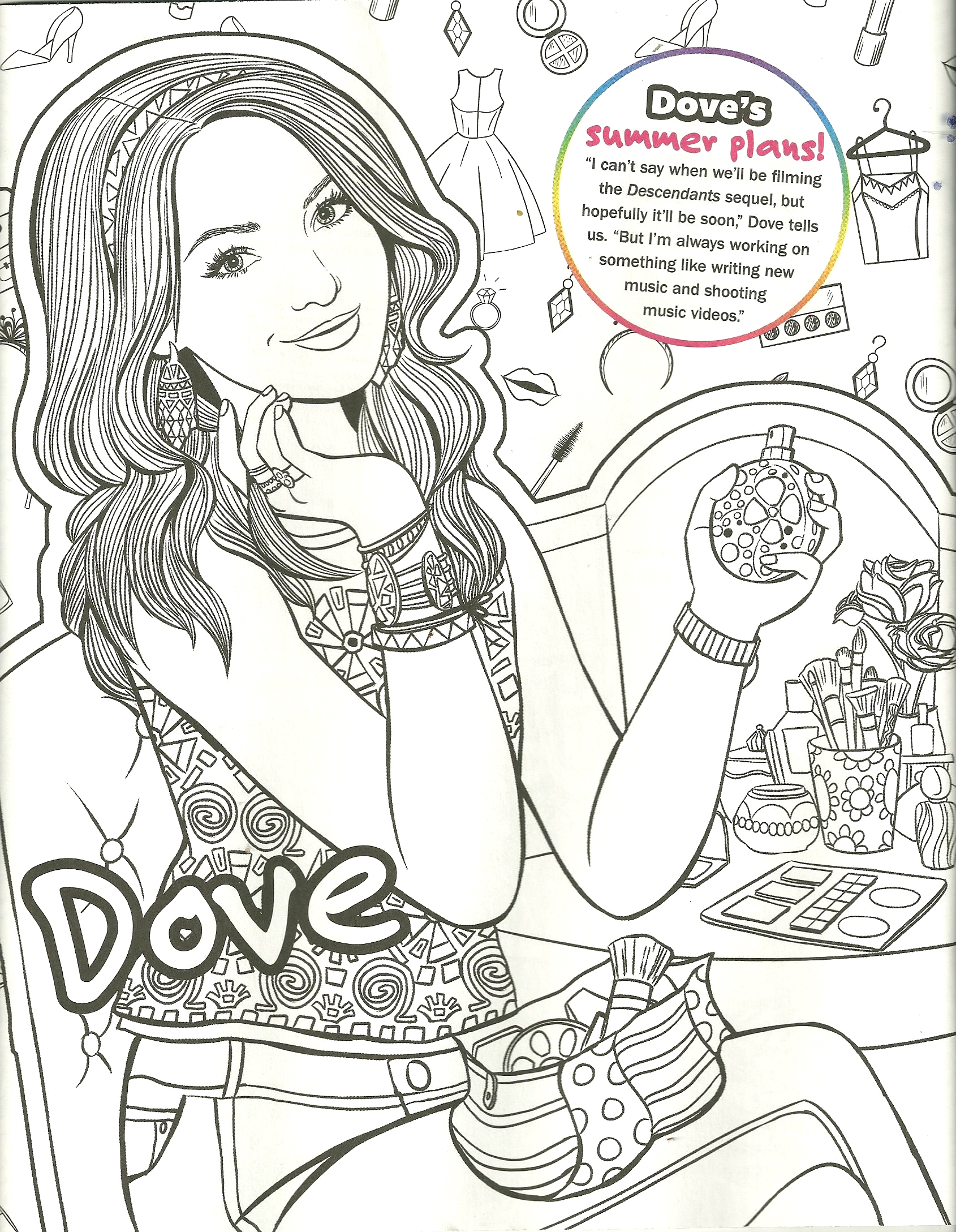 disney liv and mad coloring pages sketch templates