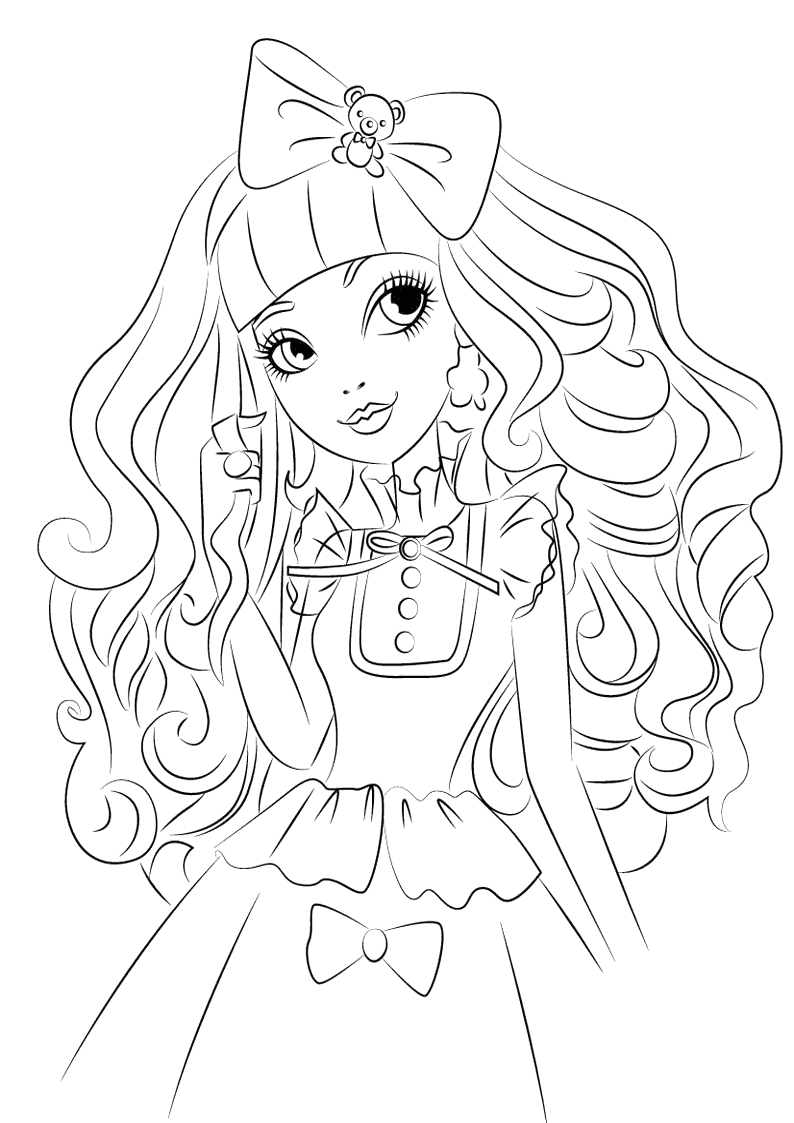 liv and mad coloring pages