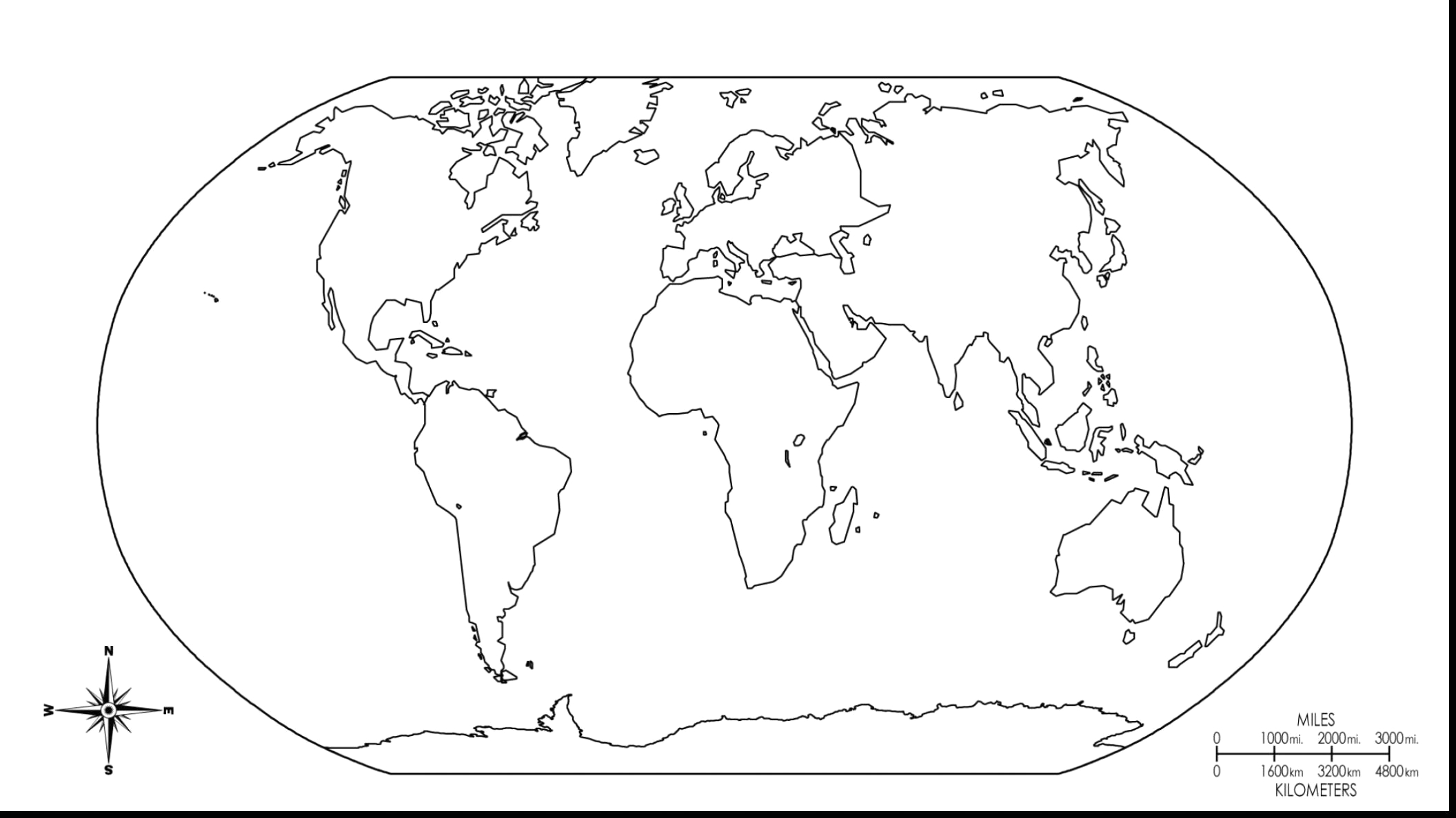world map coloring