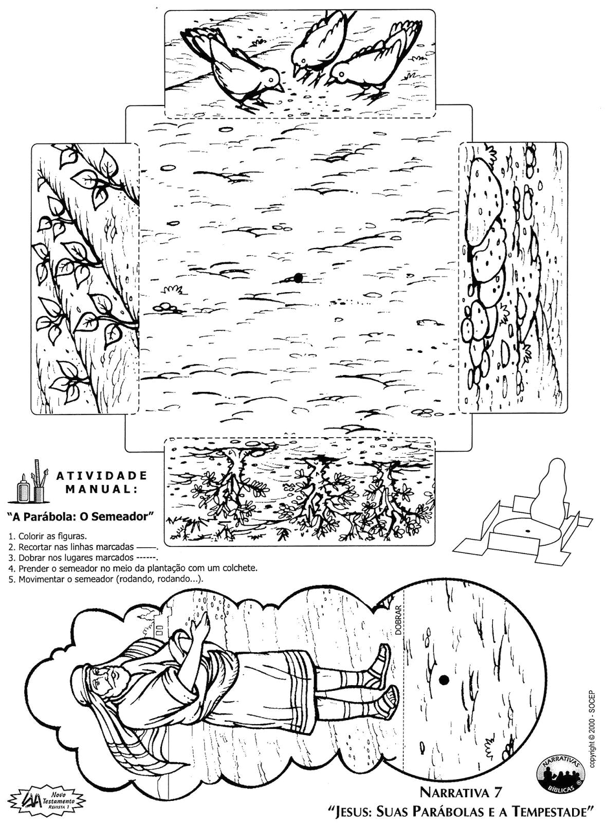 bible coloring pages the parable of sower sketch templates