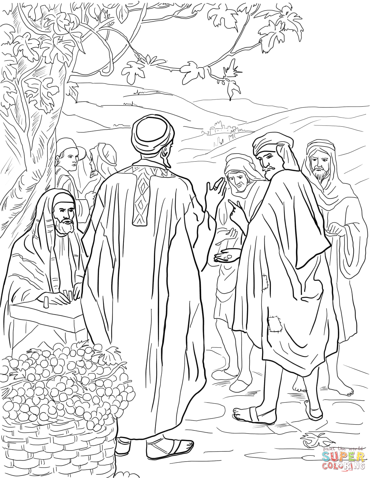 parable of the workers in the vineyard