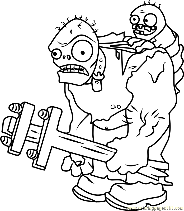 Plants Vs Zombies 2 Free Coloring Pages Plants Vs Zombies 2 Coloring Pages at Getdrawings