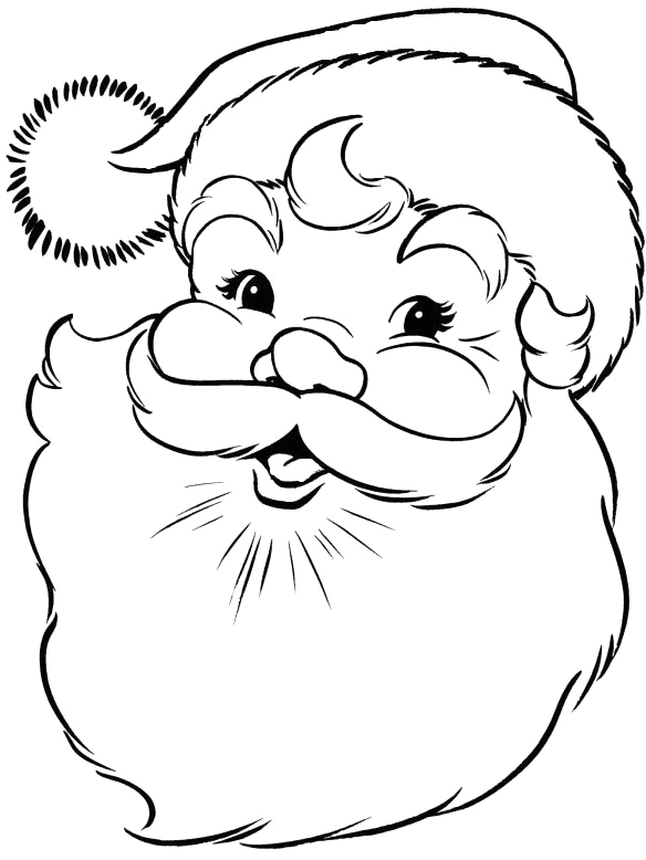 christmas town coloring pages
