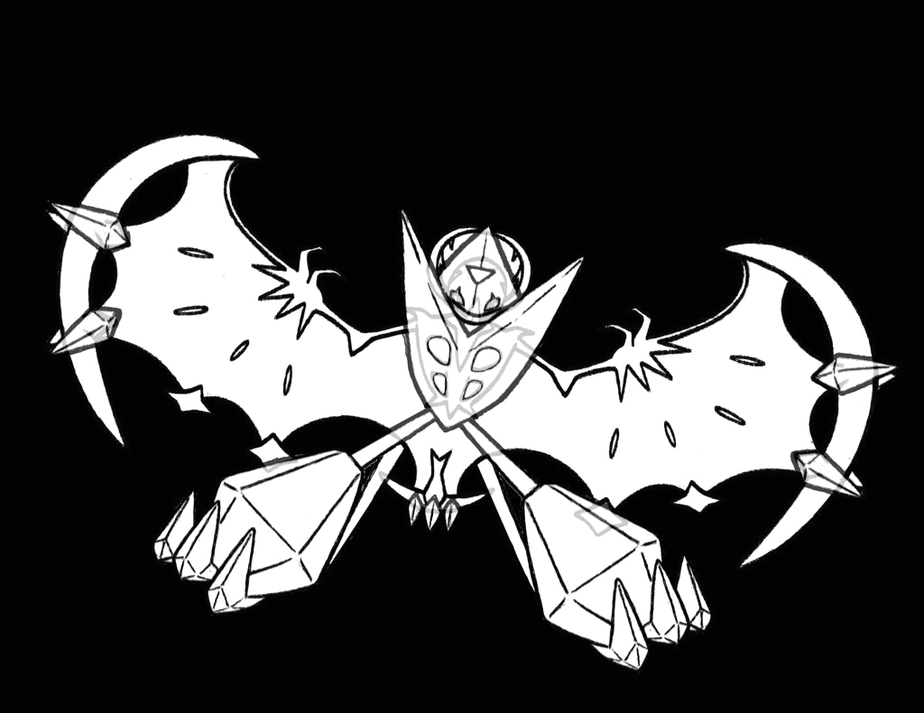 pokemon ultra beast coloring pages