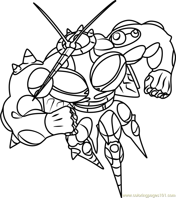 ub 02 absorption pokemon sun and moon coloring page