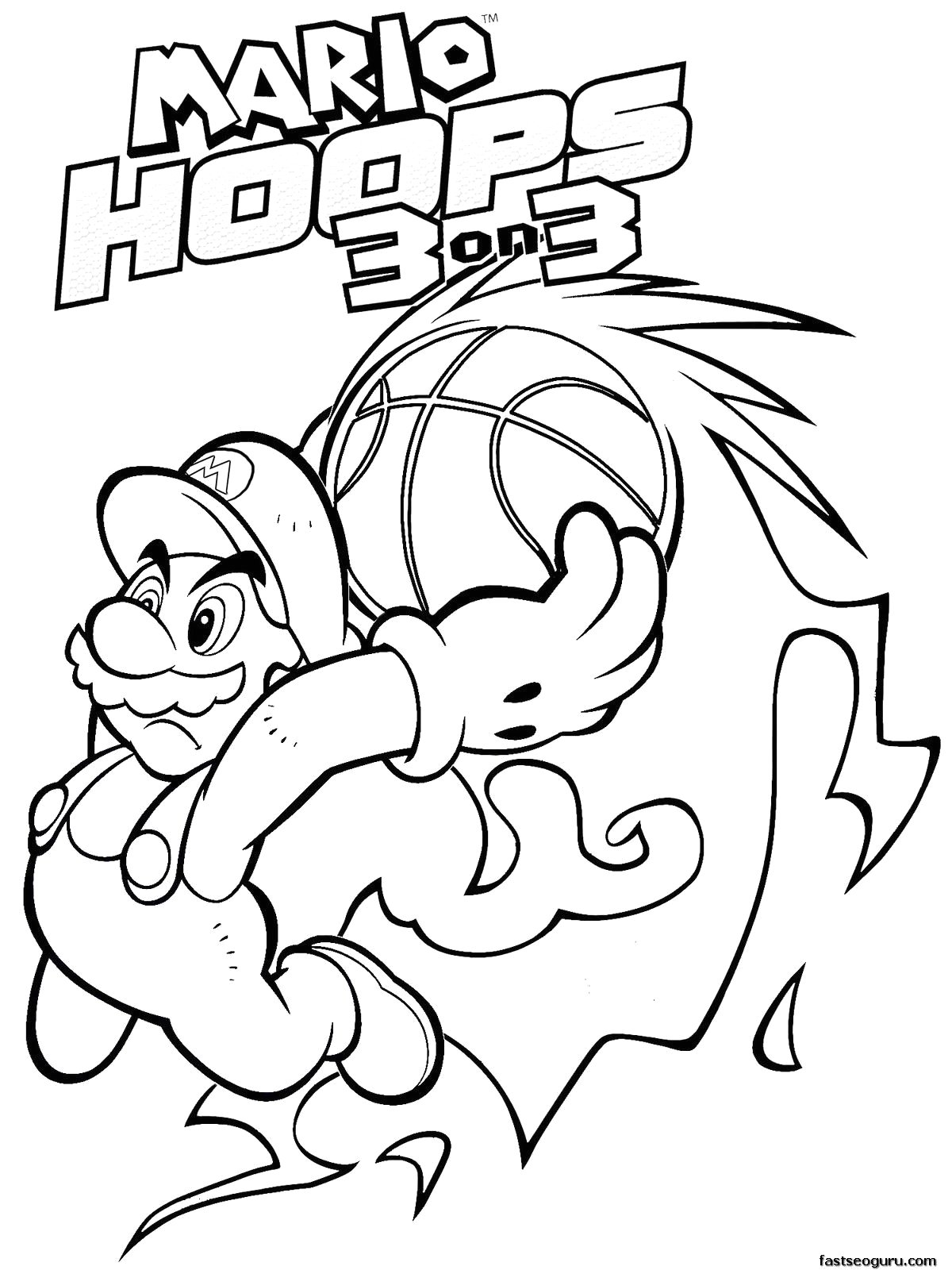 Super Mario 3d World Coloring Pages to Print Coloring Pages Mario 3d World Coloring Home