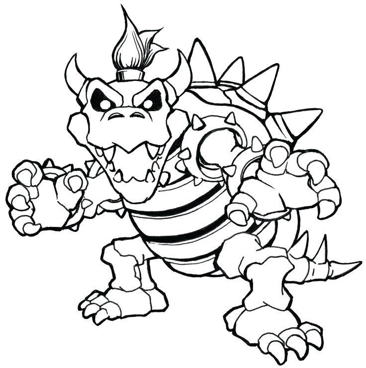 mario 3d world coloring pages