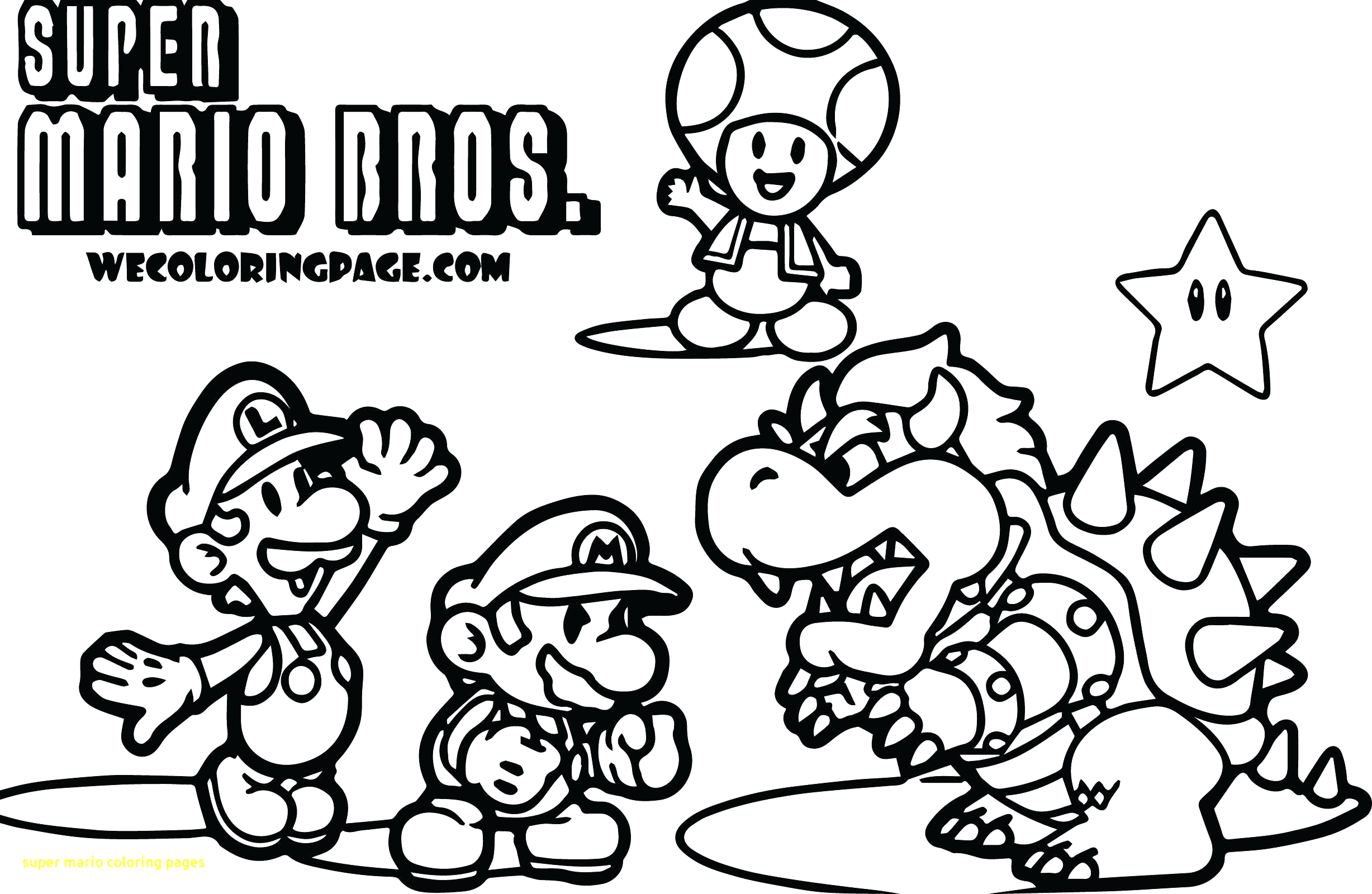 Super Mario 3d World Coloring Pages to Print Super Mario 3d World Coloring Pages at Getcolorings