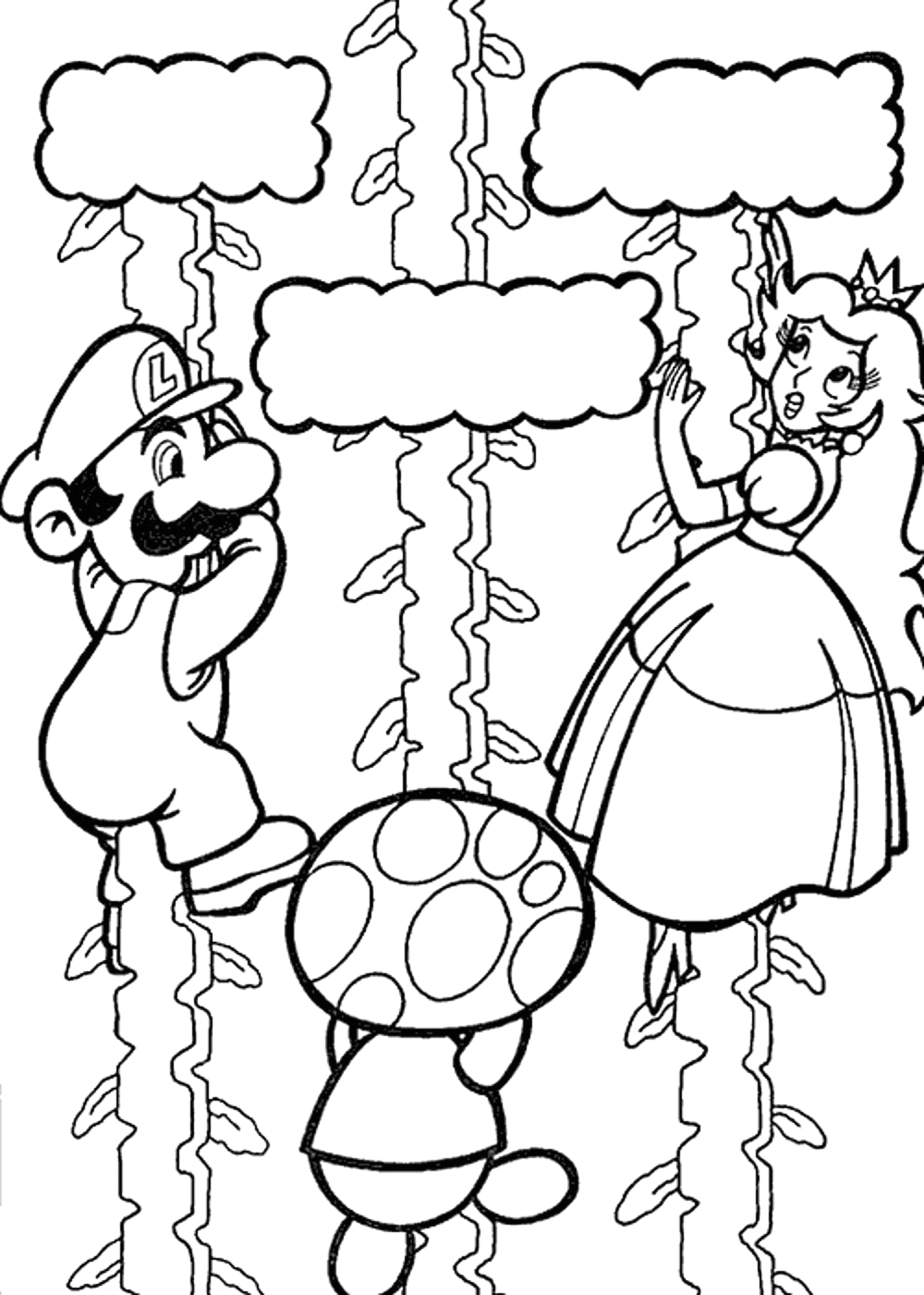 Super Mario Galaxy Coloring Pages to Print Super Mario Galaxy Coloring Pages – Best Apps for Kids
