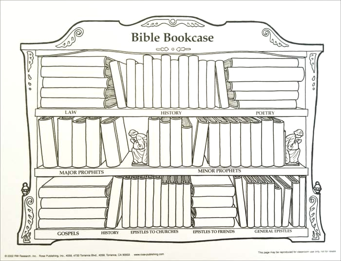 66 books of bible coloring pages
