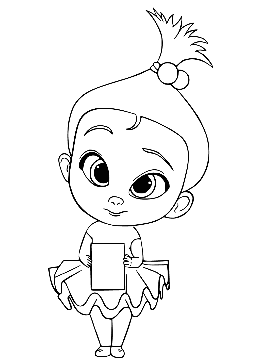 the boss baby coloring pages