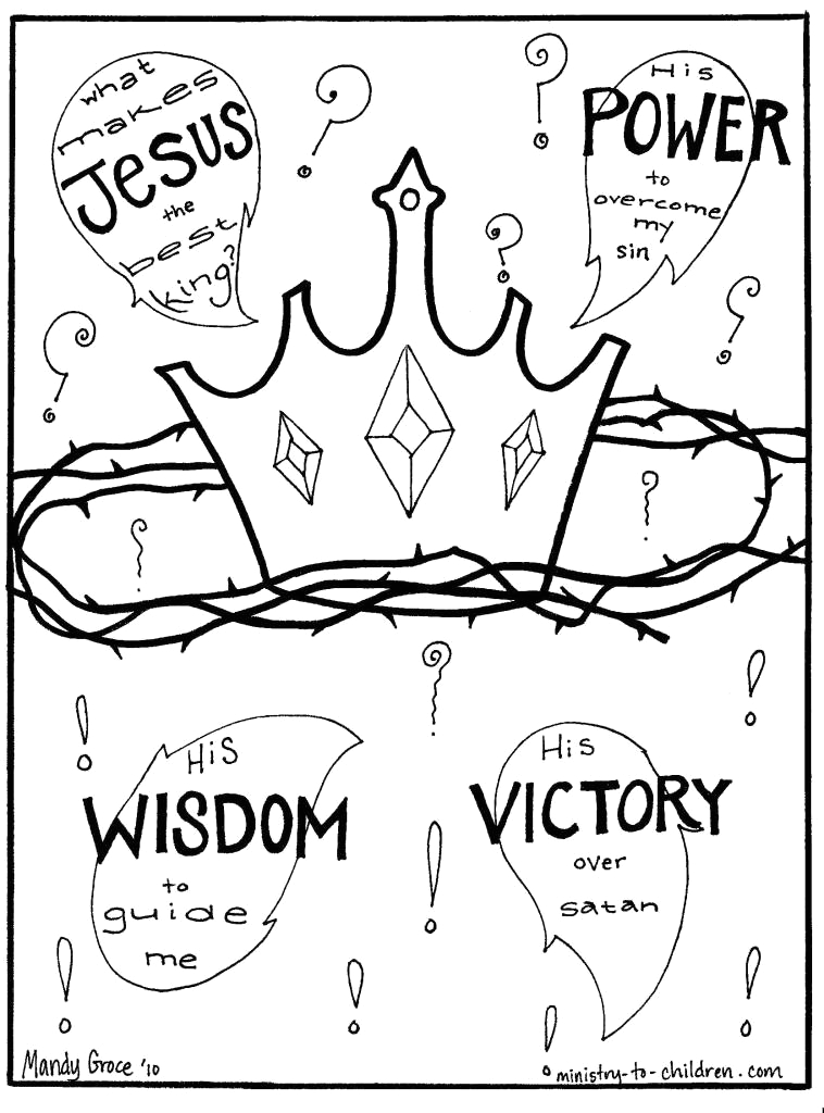 following jesus coloring pages