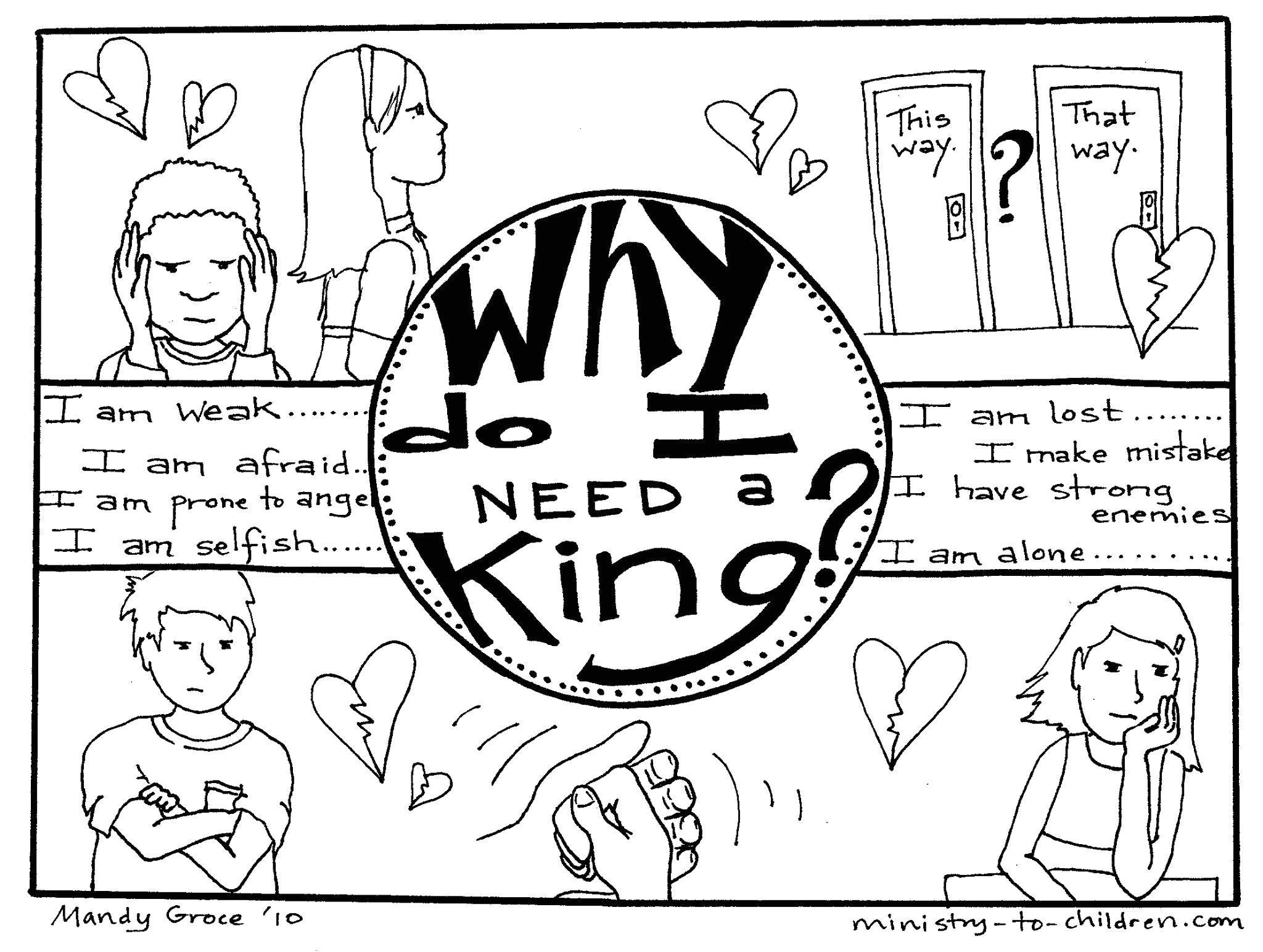 who is my king 5 page coloring book free
