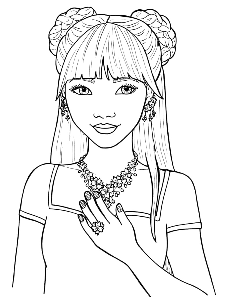 Coloring Pages for Girls 11 and Up Free Printable Cute Coloring Pages for Girls Quotes that