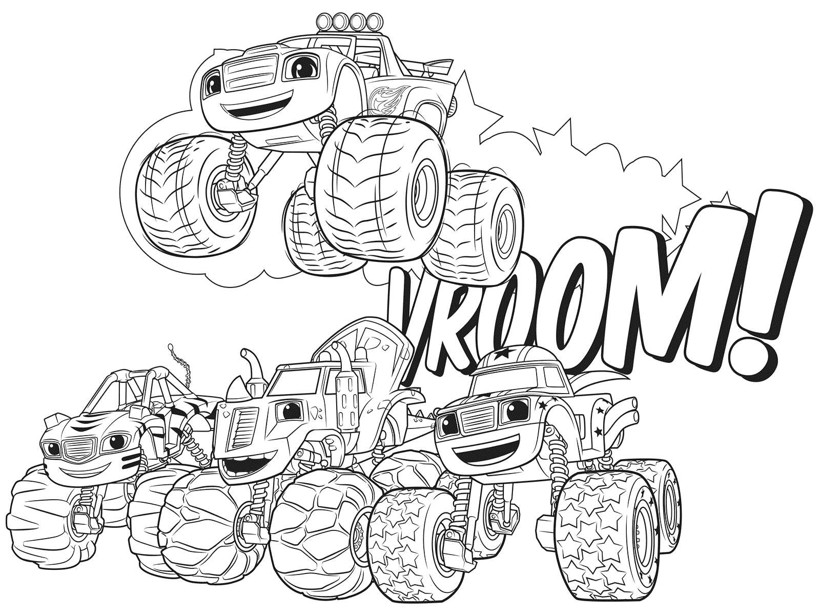 Coloring Pages Of Blaze and the Monster Machines Blaze and the Monster Machines Coloring Pages Best