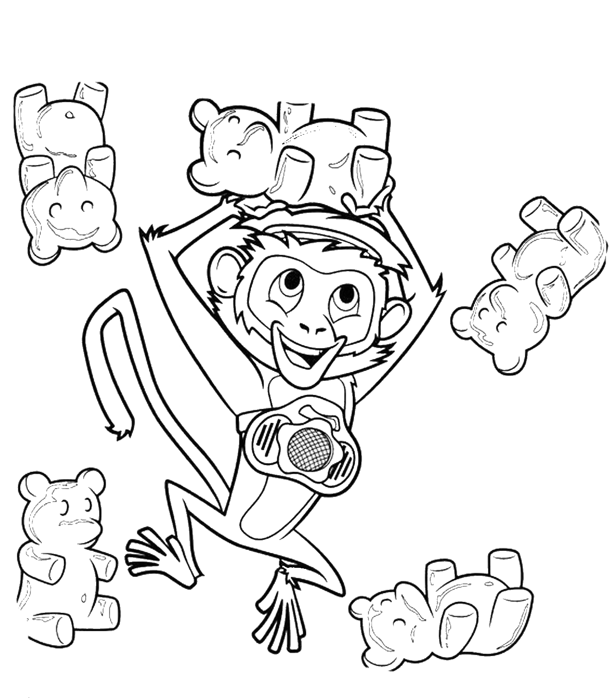 Coloring Pages Of Cloudy with A Chance Of Meatballs Cloudy with A Chance Of Meatballs Coloring Pages