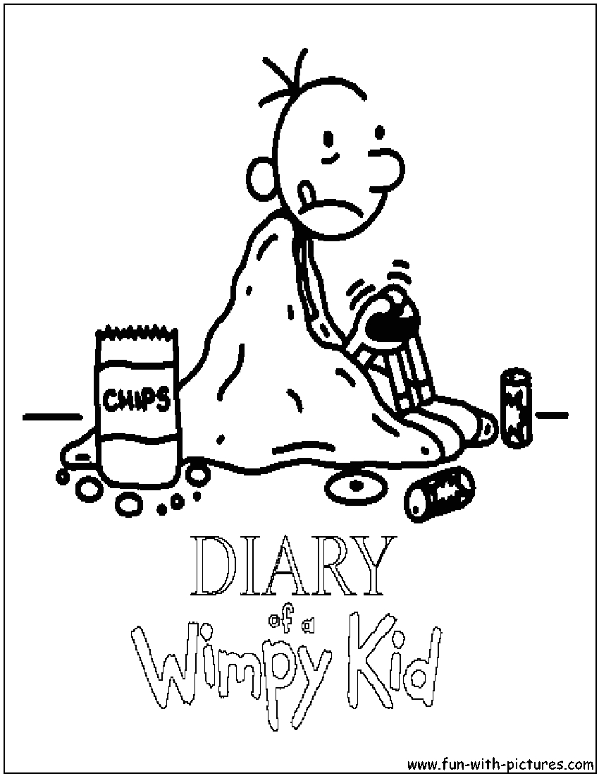 Coloring Pages Of Diary Of A Wimpy Kid Diary A Wimpy Kid Coloring Pages to Print Coloring Home