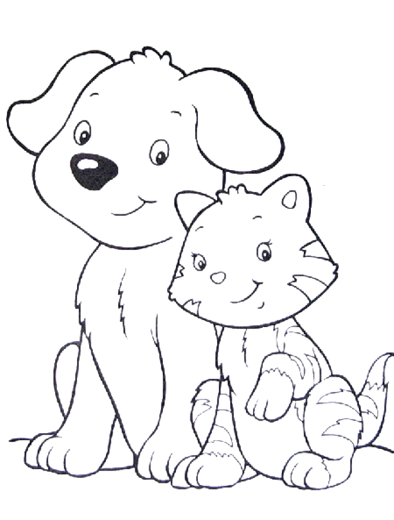 pet coloring pages printable