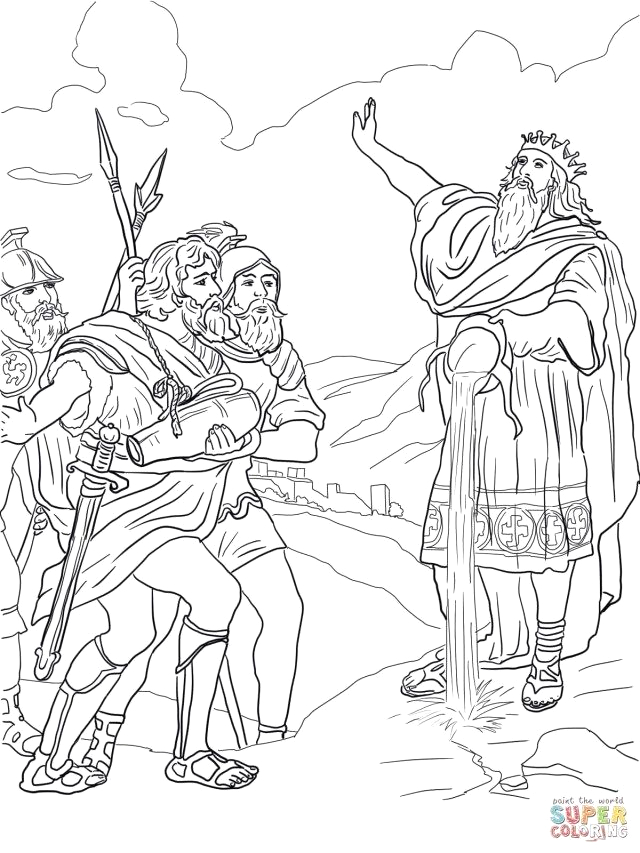David and Jonathan Best Friends Coloring Page Creative Picture Of David and Jonathan Coloring Page