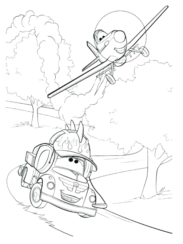 disney planes fire and rescue coloring pages
