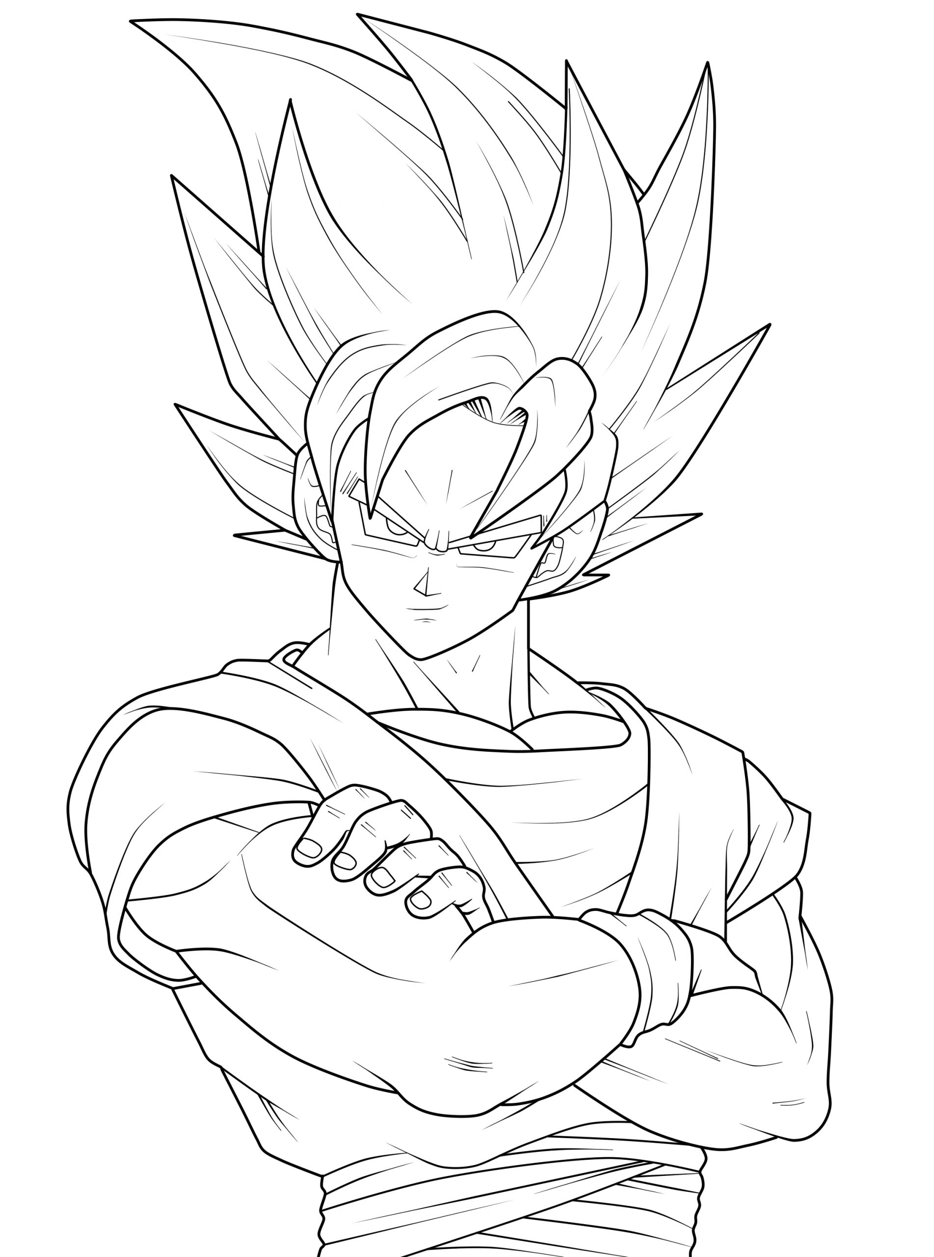 dragon ball z coloring pages games