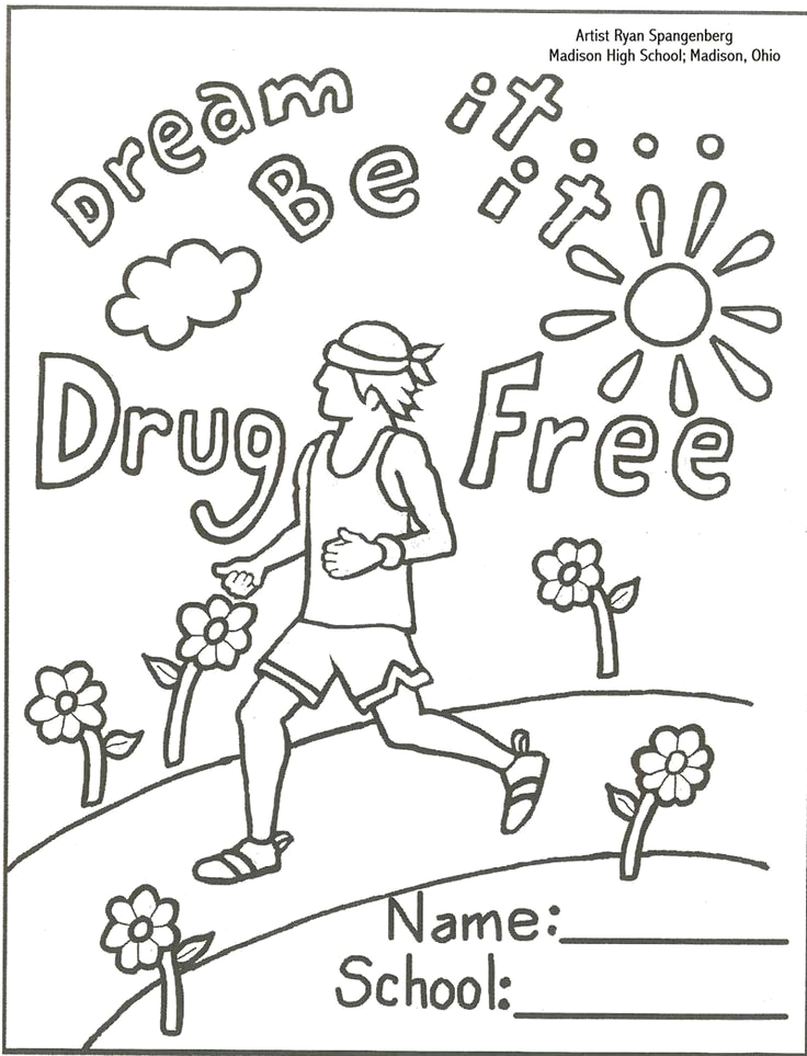 anti coloring pages