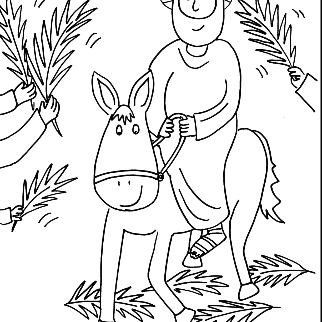 Free Christian Easter Coloring Pages for Preschoolers Religious Easter Coloring Pages for Preschoolers at