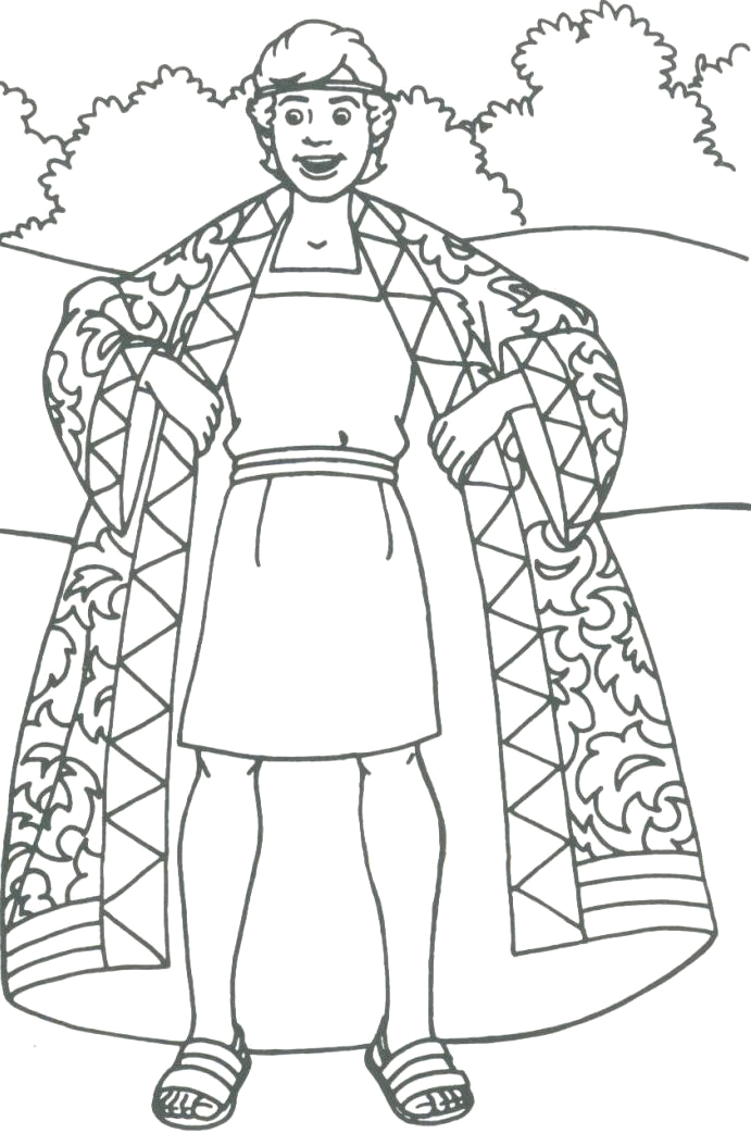 Free Coloring Page Joseph Coat Of Many Colors Coloring Pages Joseph and the Coat Of Many Colors Google