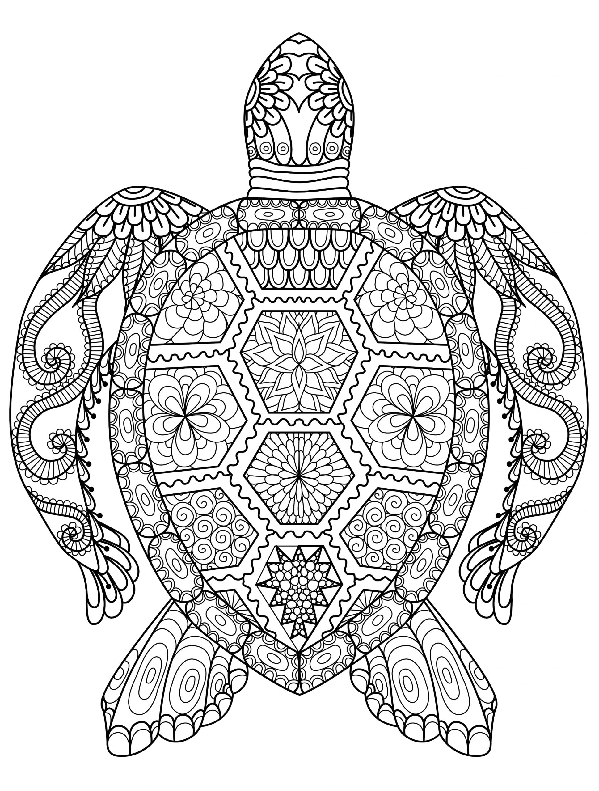 Free Printable Animal Coloring Pages for Adults Adult Coloring Pages Animals Best Coloring Pages for Kids