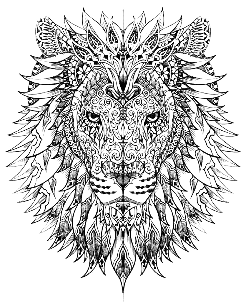 Free Printable Animal Coloring Pages for Adults Only Animal Coloring Pages for Adults Best Coloring Pages for